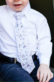 Frozen Floral Zipper Tie (Boys and Men)