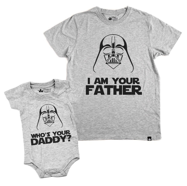 Who's Your Daddy Gray Crew Neck Bodysuit