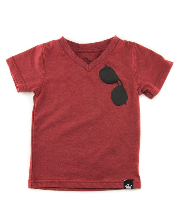 Red Aviator Shirt
