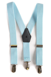 Light Blue Suspenders