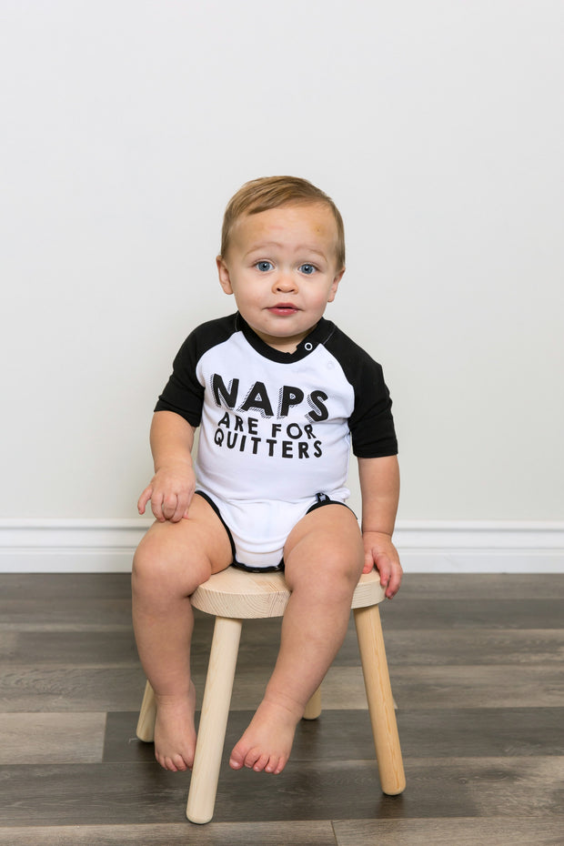 Naps Are For Quitters Raglan