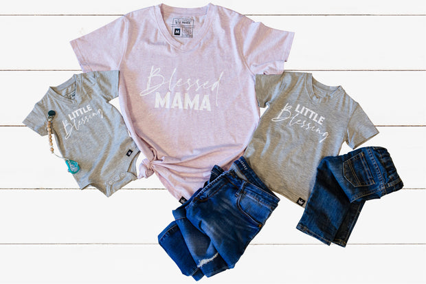 Blessed - Mommy & Me Matching Tees