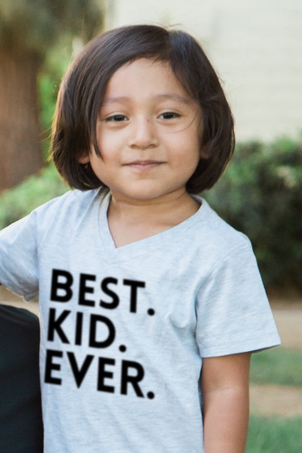Best Kid Ever V-Neck Tee