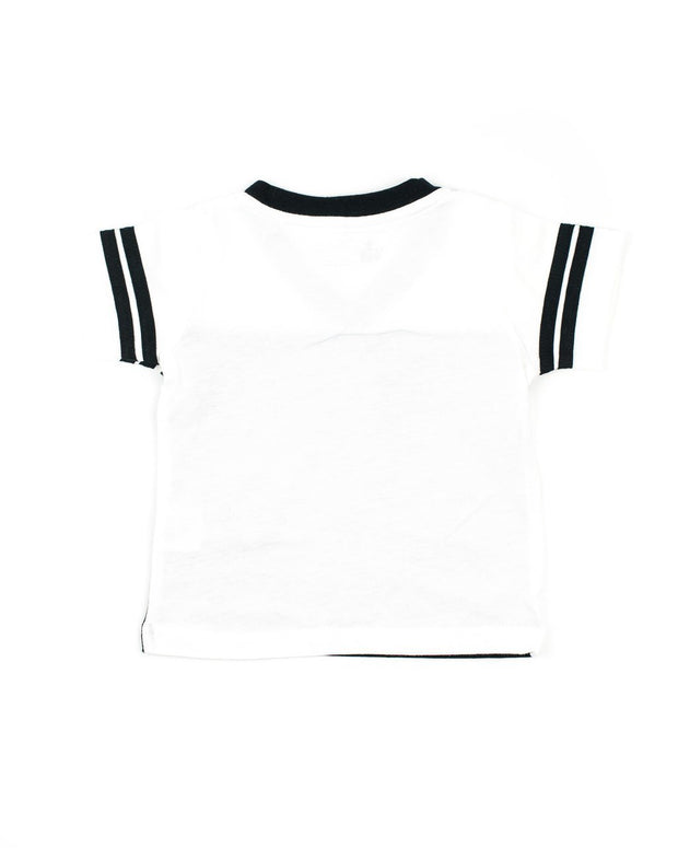 Black and White Jersey T-Shirt
