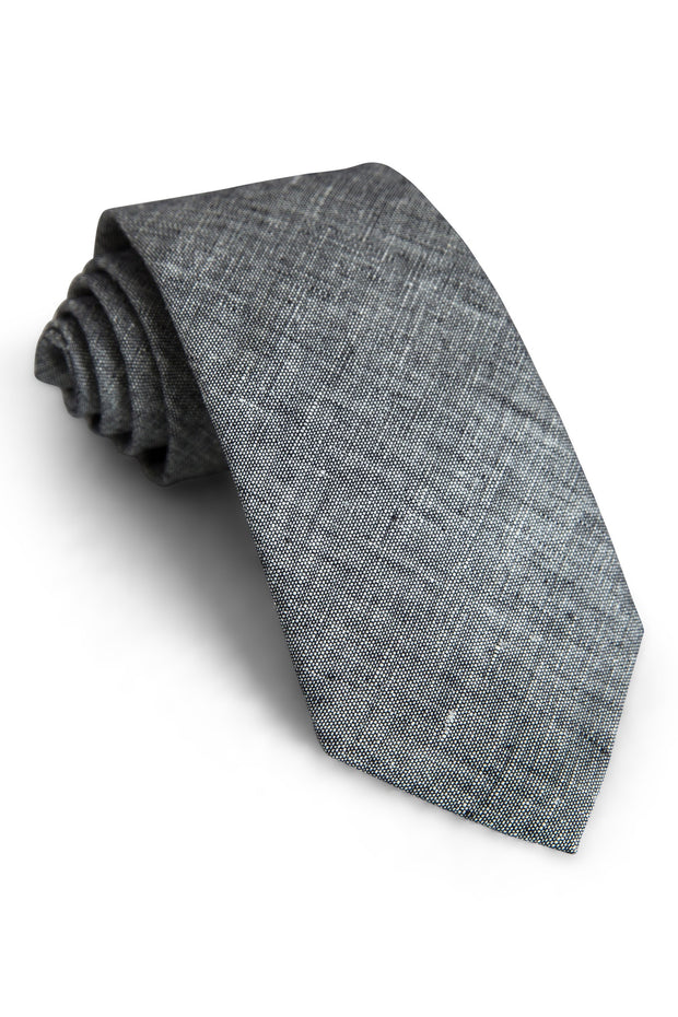 Black Tweed Tie