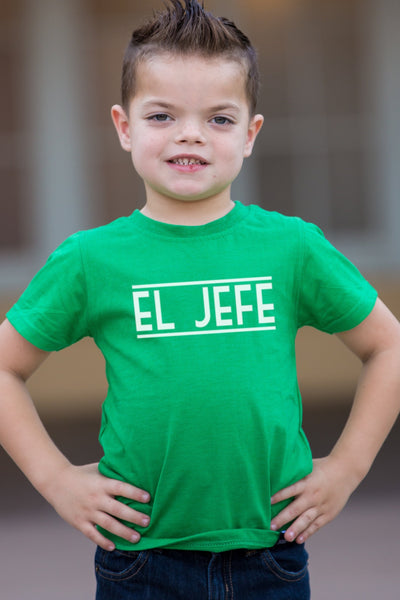 El Jefe Green Graphic Tee