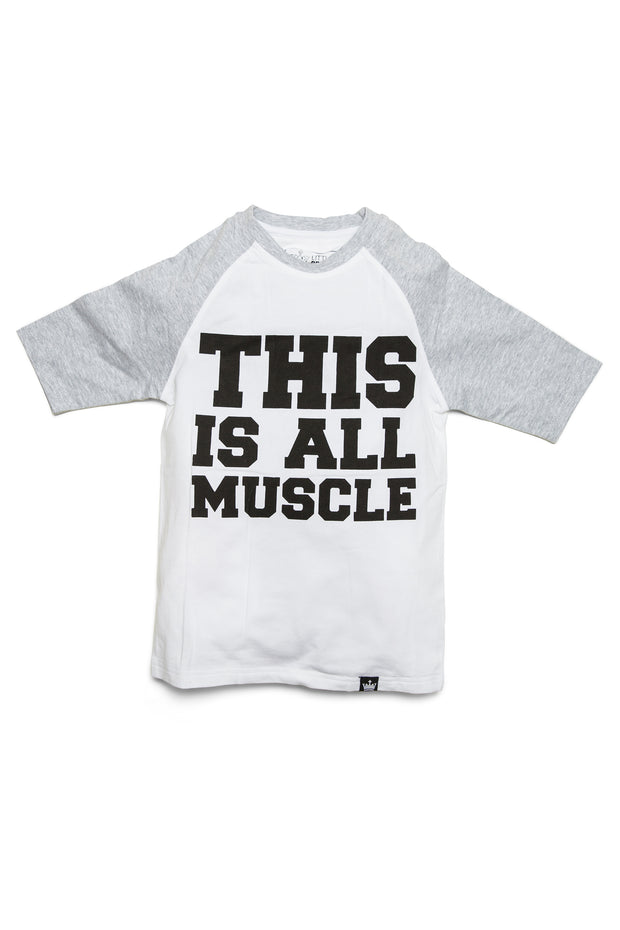 This Is All Muscle Raglan