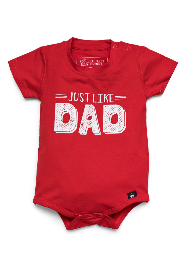 Just Like Dad Graphic Tee