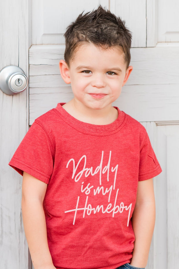 Daddy Is My Homeboy Graphic Tee