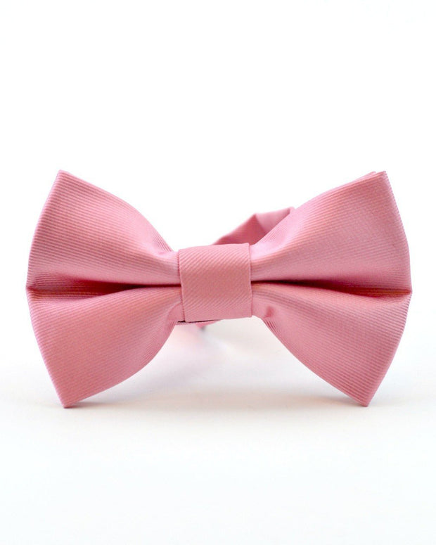 Rose Solid Bow Tie (Boys and Men)