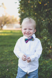 Prism Check Bow Tie (Boys and Men)
