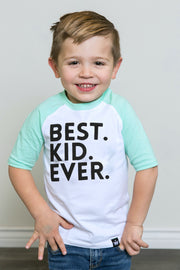 Best Kid Ever Raglan
