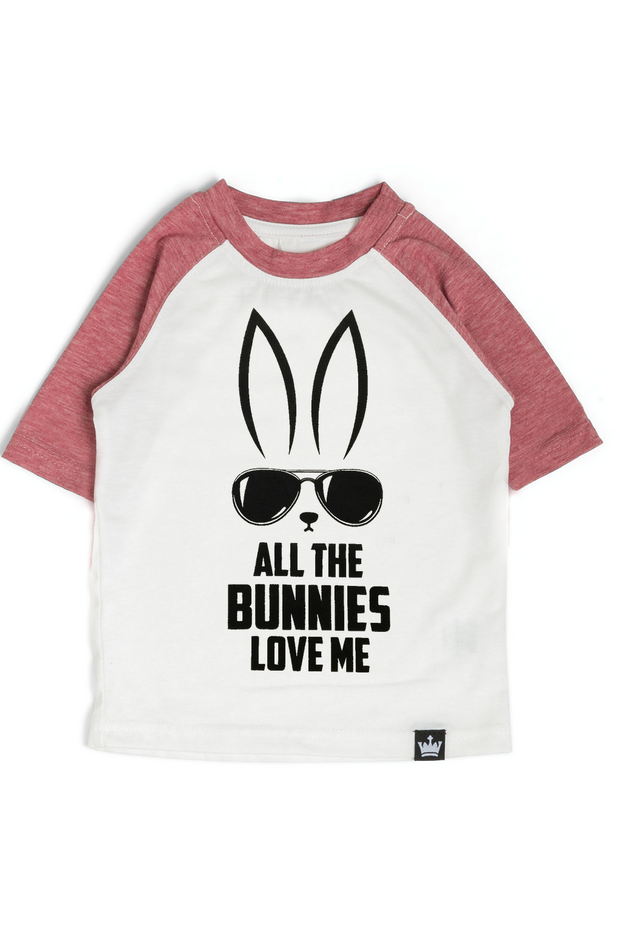 All The Bunnies Graphic Raglan