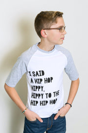 Hip Hop Hippy Raglan