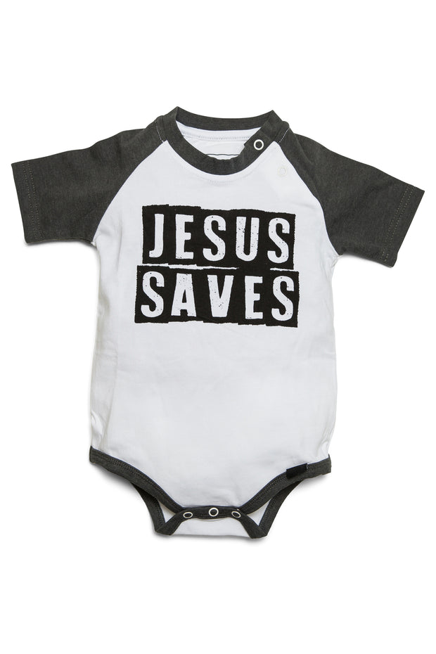 Jesus Saves Raglan