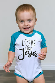 Love Like Jesus Raglan