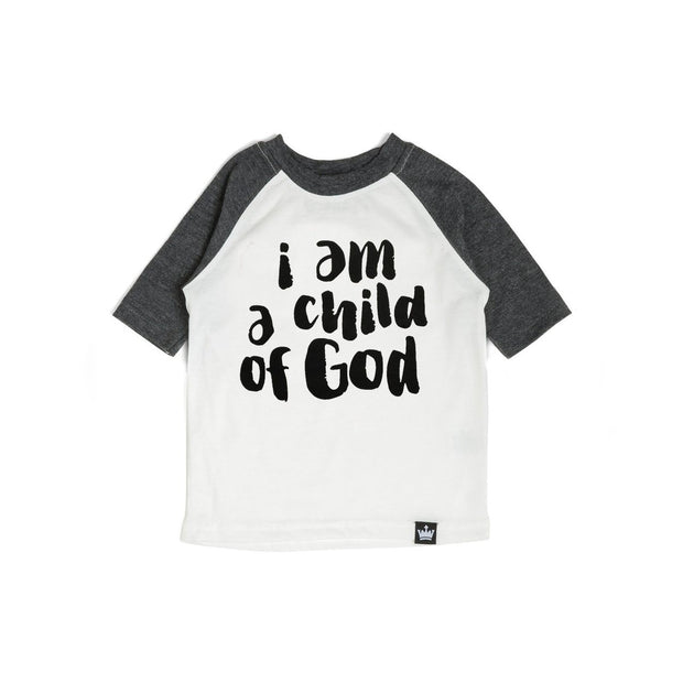 Child of God Charcoal Raglan Shirt