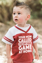 Your Mom Called Red Jersey Tee