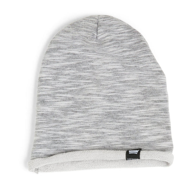 Gray Melange French Terry Beanie