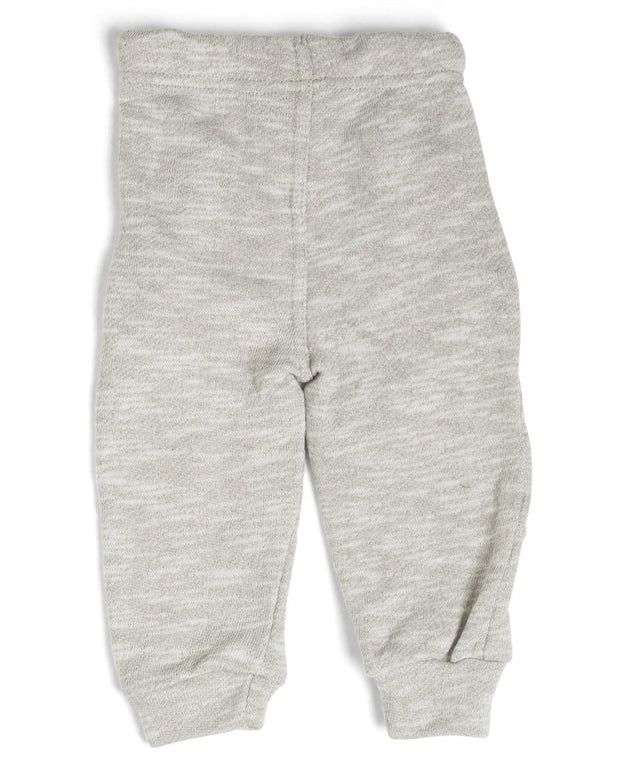French Terry Kid's Moto Sweatpants - Ash Gray