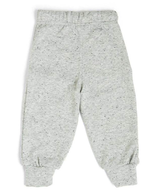 French Terry Kid's Moto Sweatpants - Gray
