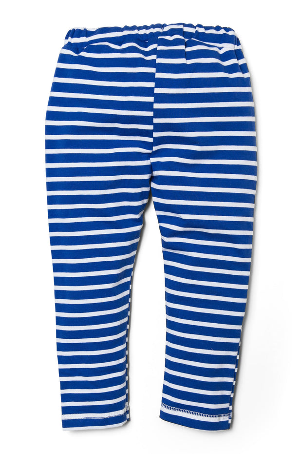 Striped French Terry Peekaboo Pocket Joggers