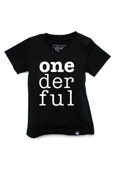 Onederful Birthday Graphic Tee