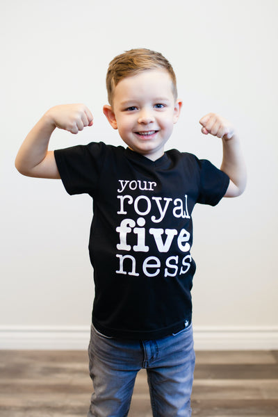 Your Royal Fiveness Birthday Graphic Tee
