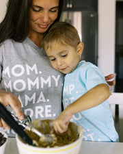 Nicknames - Mommy & Me Matching Tees