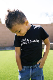 Little Gentleman - Mommy & Me Matching Tees