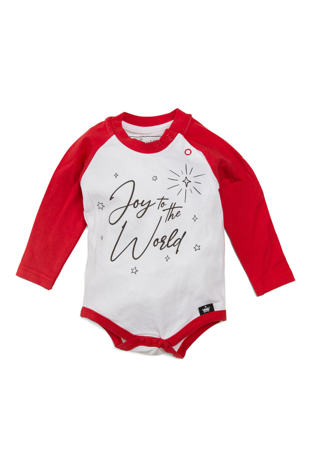 Joy To The World Raglan