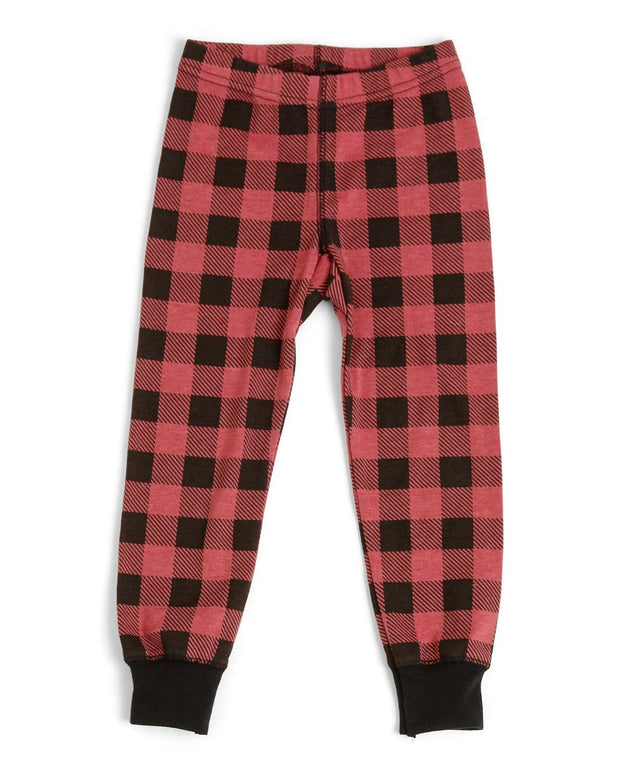 Red Buffalo Check Kids' Pajama Set (Style A)
