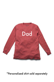 Red Nordic Matching Family Pajamas - Personalized Add-On