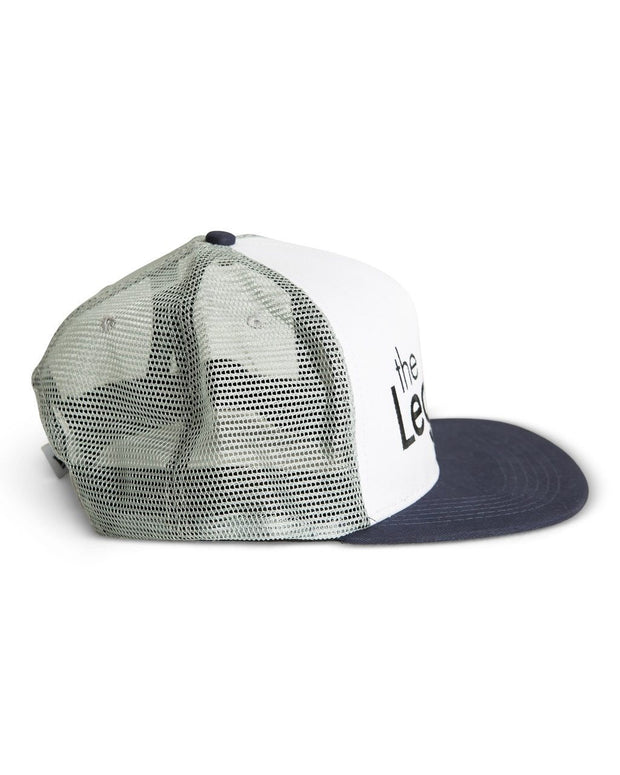 The Legend Snapback Hat in Navy & Gray