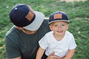 Best Kid Ever Snapback Hat in Navy