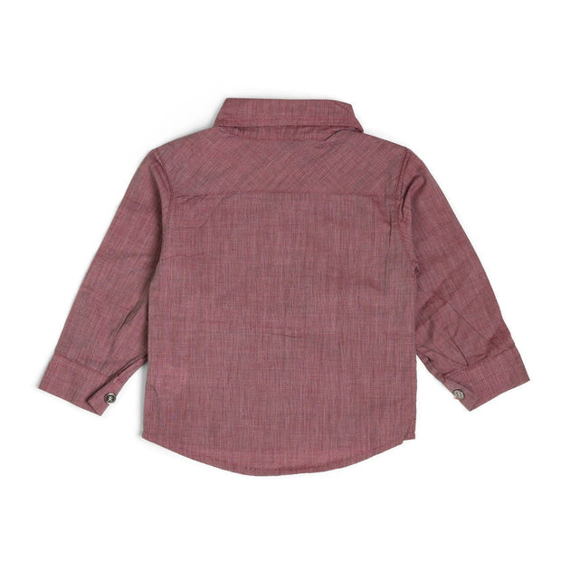 Garnet Long Sleeve Dress Shirt