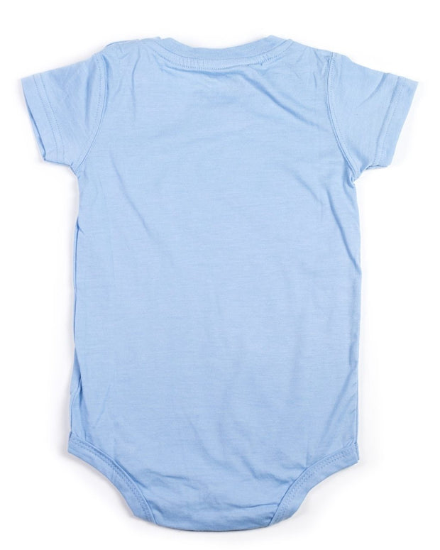Baby Blue V-Neck Bodysuit