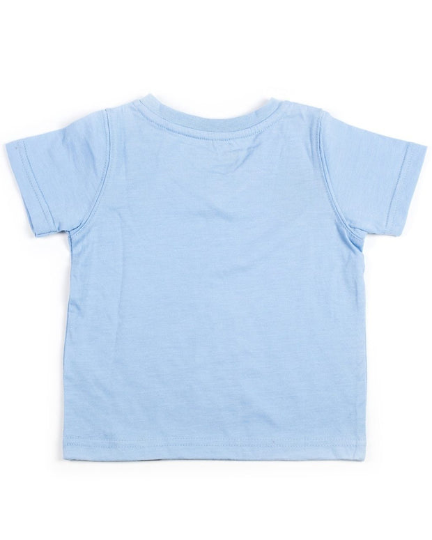 Baby Blue V-Neck Shirt