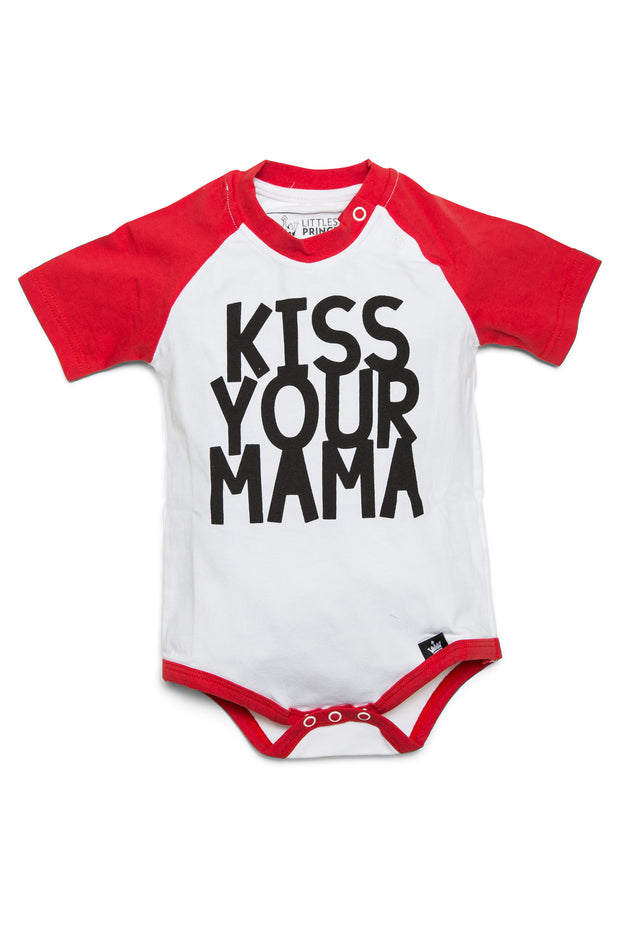 Kiss Your Mama Raglan