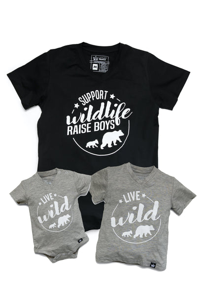 Wild - Mommy & Me Matching Tees