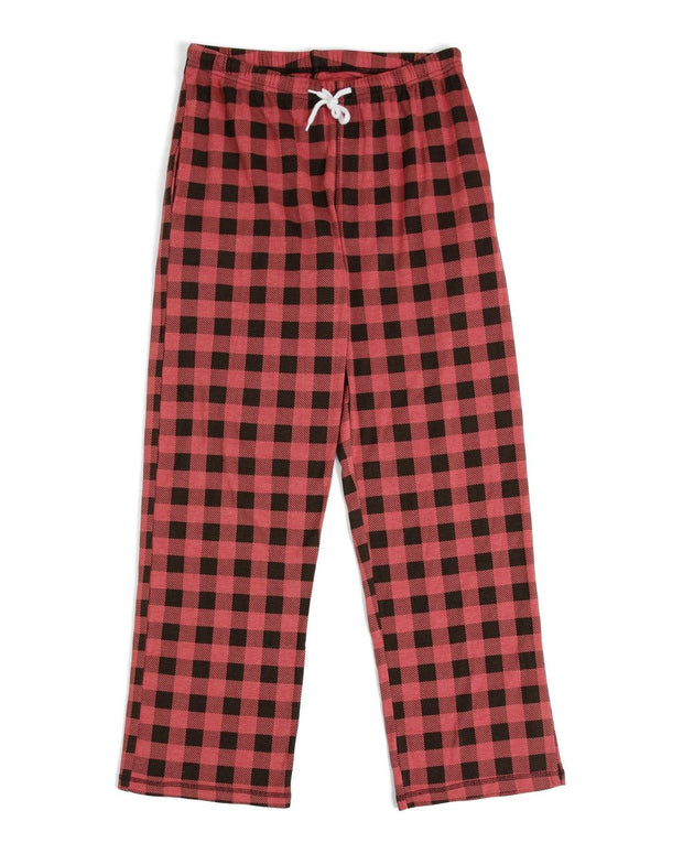 Red Buffalo Check Men's Pajama Set (Style A)