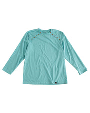 Long Sleeve Button Shoulder