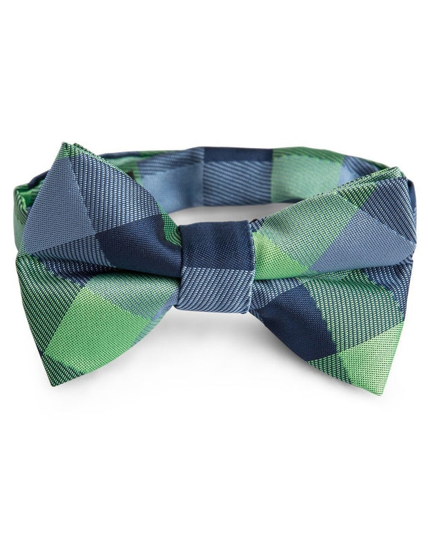 Oxford and Lime Check Tie