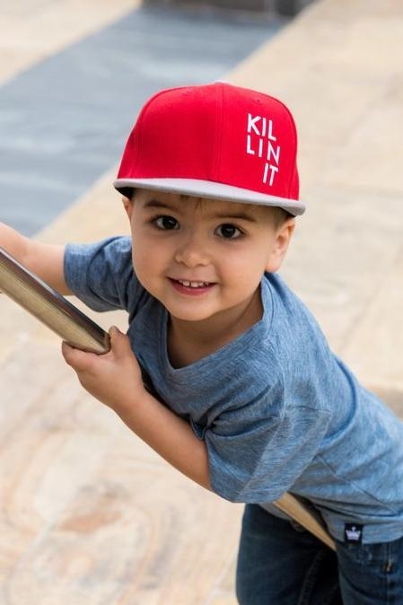 Red Killin It Snapback Hat