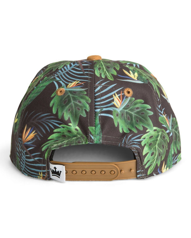 Tropical Wild Child Snapback Hat