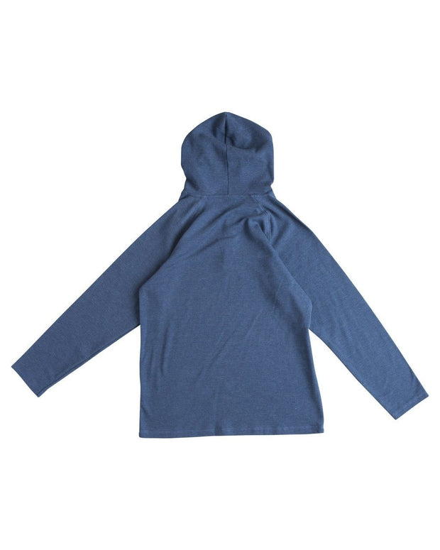 Navy Men's Thermal Hoodie Shirt