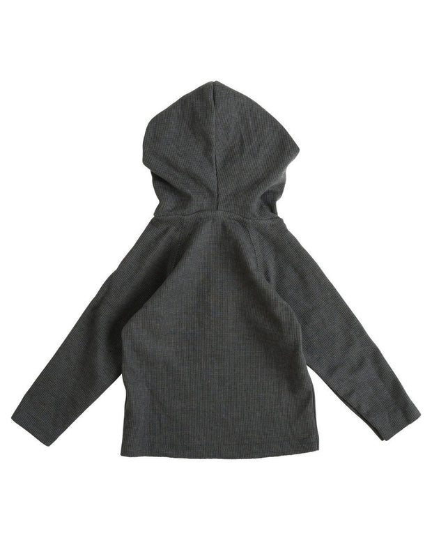Charcoal Thermal Hoodie Shirt