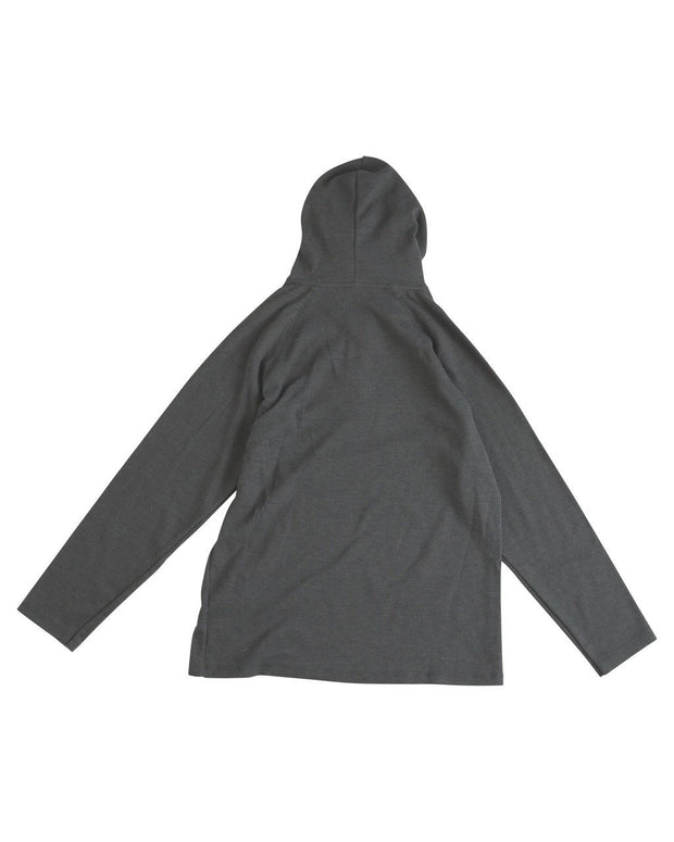 Charcoal Men's Thermal Hoodie Shirt