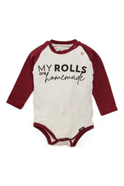 Rolls Are Homemade Raglan