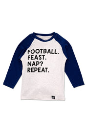 Football & Feast Raglan Shirt